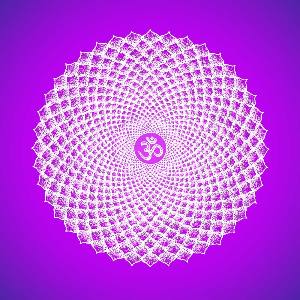 Kronenchakra - Sahasrāra -Chakra Bedeutung - Ausbildung Chakra Therapeut - Linda Giese