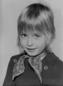 Linda Giese als Kind